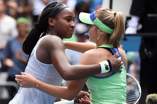 Teenage tennis star Coco Gauff knocked out of Australian Open