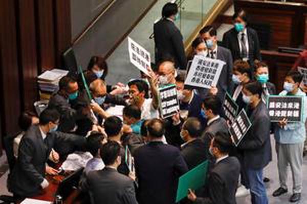Beijing may base security agencies in Hong Kong