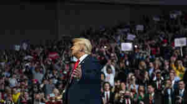 With Rallies Off The Table, Trump's Reelection Moves To Virtual Campaigning